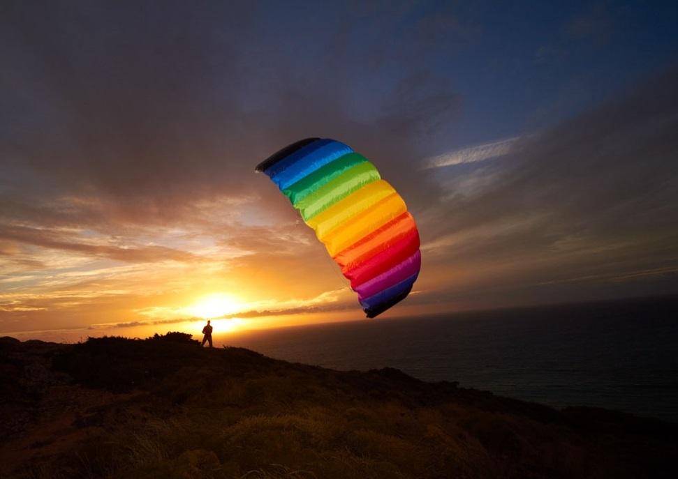 HQ Kites: Symphony Beach III 2.2 Rainbow - Sport Foil Kite image
