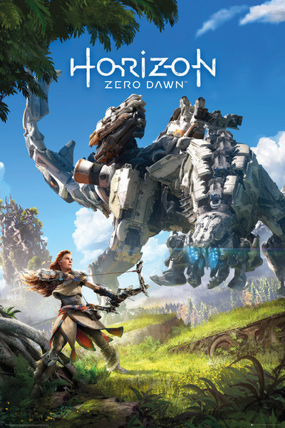 Horizon Zero Dawn Key Art Maxi Poster (624) image