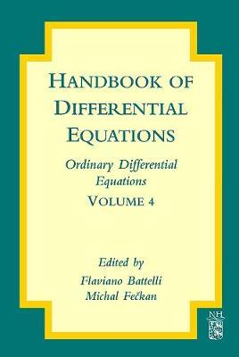 Handbook of Differential Equations: Ordinary Differential Equations: Volume 4 by Flaviano Battelli image