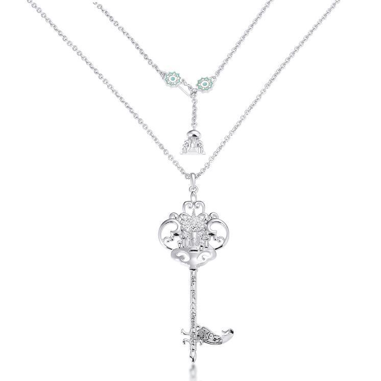 Couture Kingdom: Disney - Princess Jasmine Necklace (White Gold) image