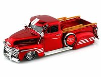 Jada 1/24 Just Trucks '51 Chev Pick-Up (Red) - Diecast Model