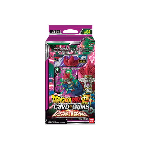 Dragon Ball Super TCG: Colossal Warfare Special Pack image