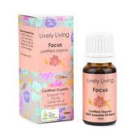 Organic Essential Oil Blend - Focus (10ml)