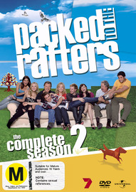 Packed to the Rafters - Season 2 (6 Disc Set) on DVD