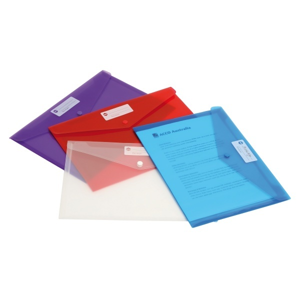 Marbig: Doculope A4 Wallet (Assorted Colours)