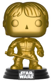 Star Wars - Luke Skywalker (Gold Chrome) Pop! Vinyl Figure image