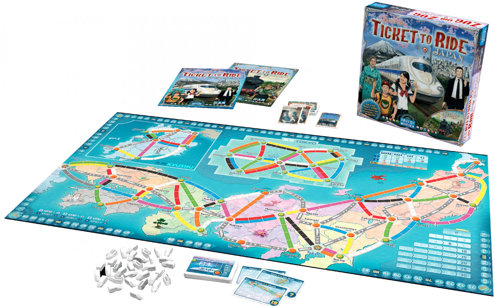 Ticket to Ride: Japan/Italy - Board Game image