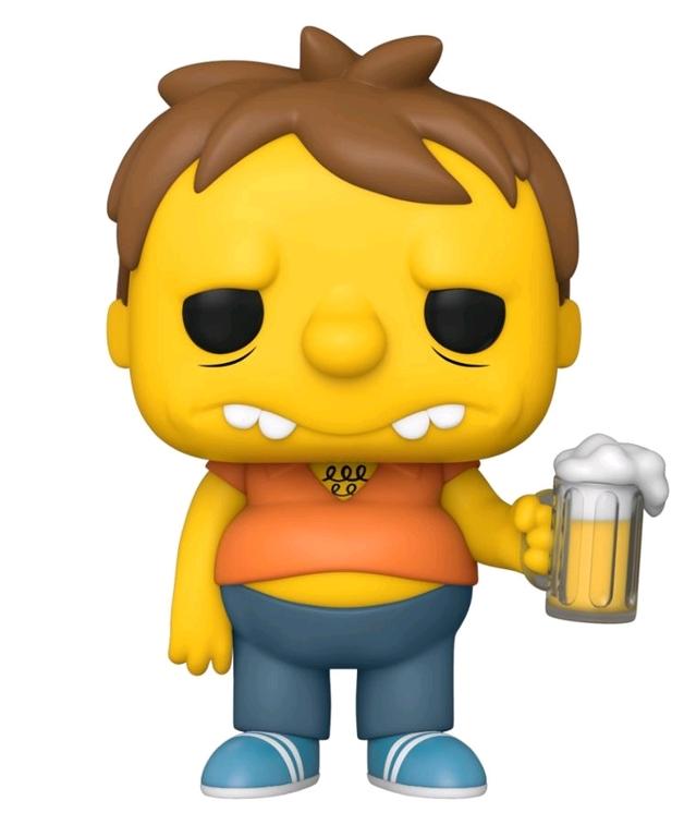 The Simpsons: Barney Gumble - Pop! Vinyl Figure