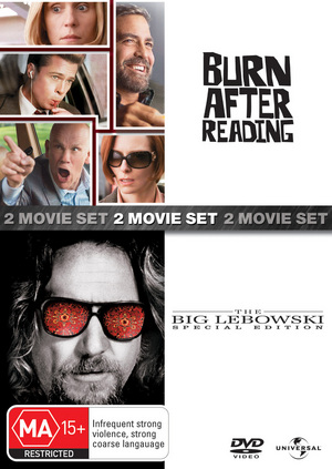 Burn After Reading/The Big Lebowski (2 Disc Set) on DVD image