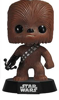Star Wars Chewbacca Pop! Vinyl Bobble Head Figure image