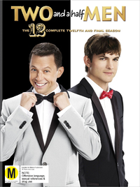Two and a Half Men Season 12 on DVD