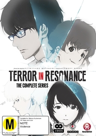 Terror In Resonance Complete Series on DVD