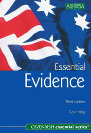Australian Essential Evidence by Colin Ying image