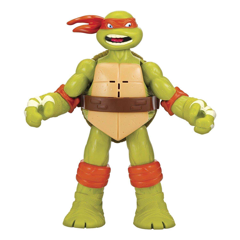 TMNT: Ninja Shouts Deluxe Figure - Michelangelo image