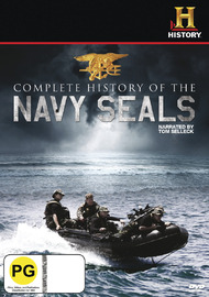 Complete History of the Navy Seals on DVD