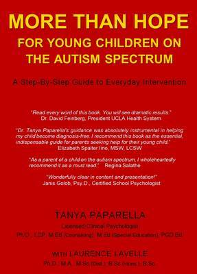 More Than Hope: For Young Children on the Autism Spectrum by Tanya Paparella