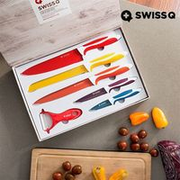 Swiss Q: Ceramic Coated - Knife Set (6 Pieces)