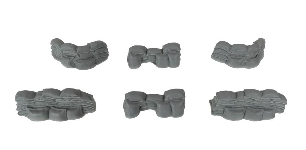 TTCombat: Tabletop Scenics - Sandbags image