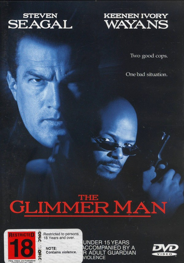 The Glimmer Man on DVD image