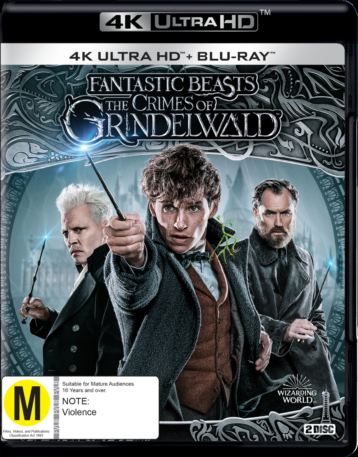 Fantastic Beasts: The Crimes Of Grindelwald on UHD Blu-ray image
