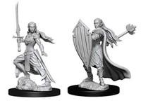 D&D Nolzur's Marvelous: Unpainted Miniatures - Female Elf Paladin