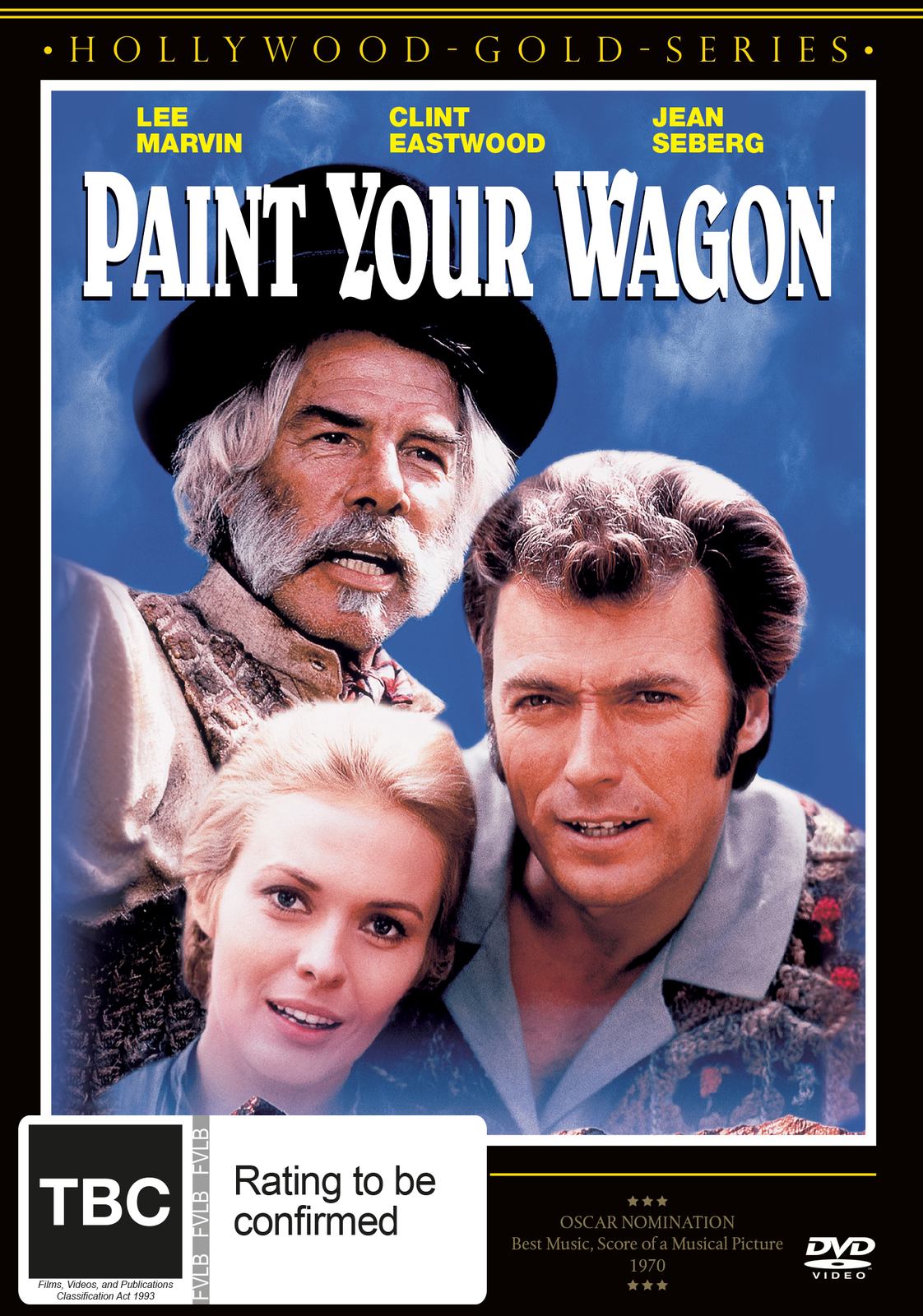 Paint Your Wagon on DVD image