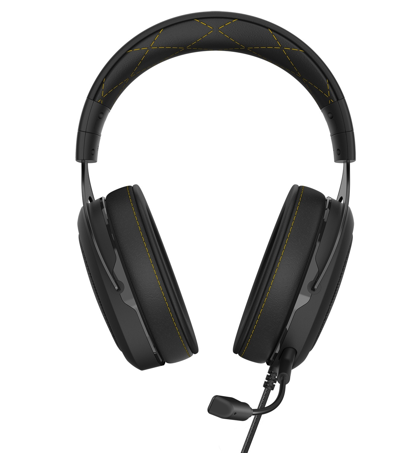 Corsair HS60 Pro Surround Gaming Headset (Yellow) for PC image