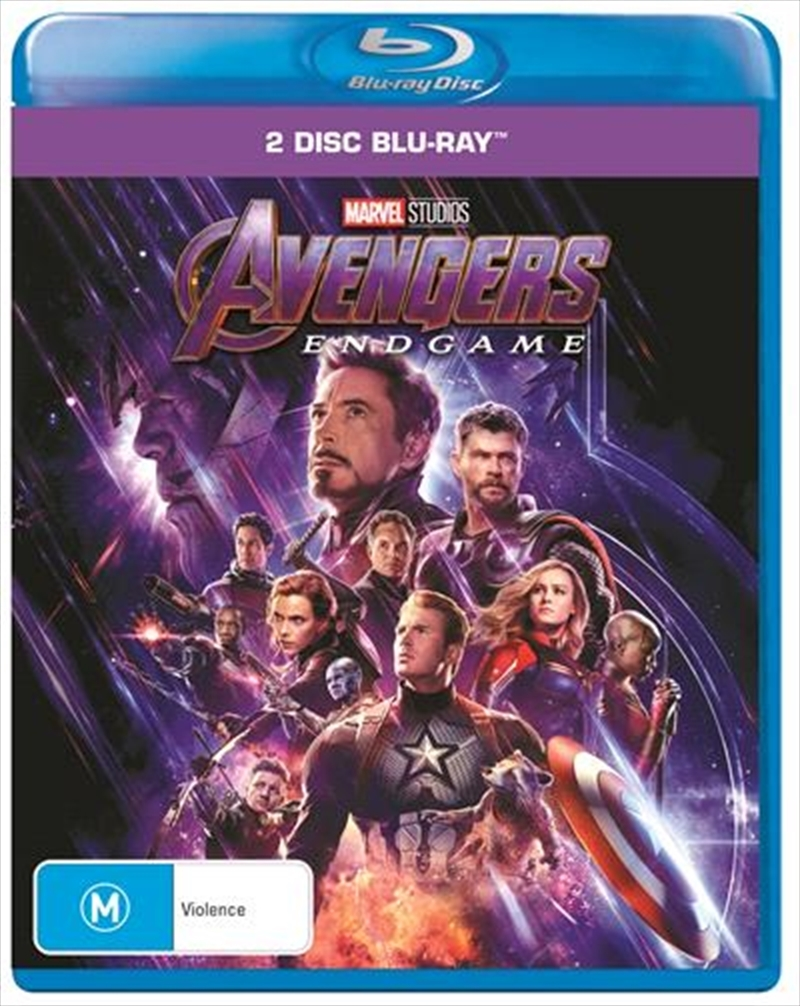 Avengers: Endgame on Blu-ray image