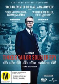 Tinker Tailor Soldier Spy on DVD