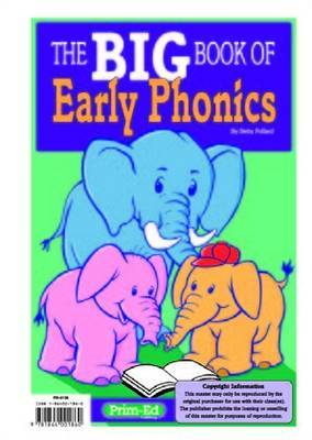 The Big Book of Early Phonics by Betty Pollard image