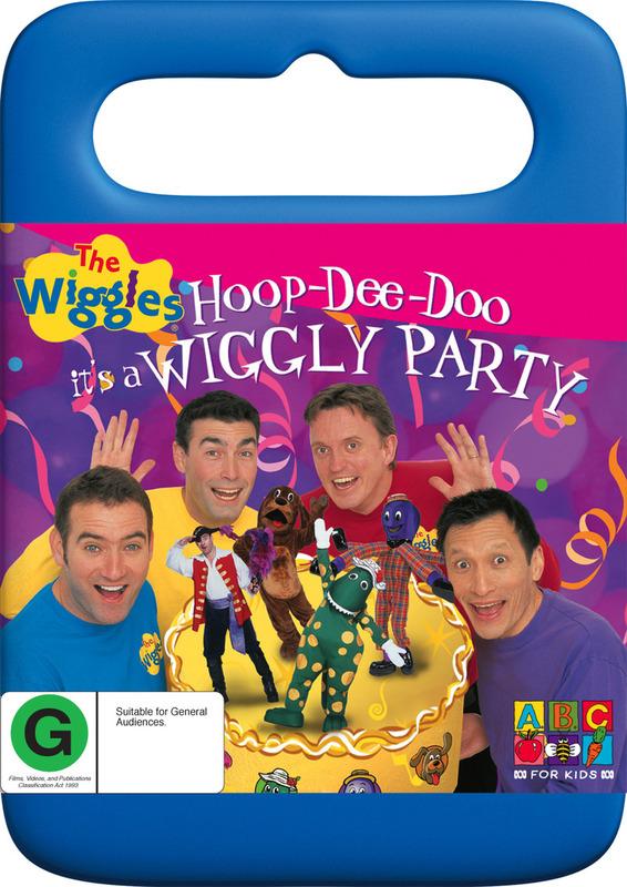 The Wiggles - Hoop De Doo, It's A Wiggly Party on DVD