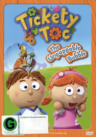 Tickety Toc: The Unpoppable Bubble DVD