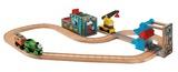 Thomas & Friends Wooden Railway Play Set - Reg & Percy Scrapyard
