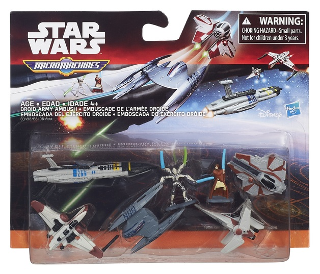 Star Wars: Micro Machines - Droid Army Ambush Deluxe Pack