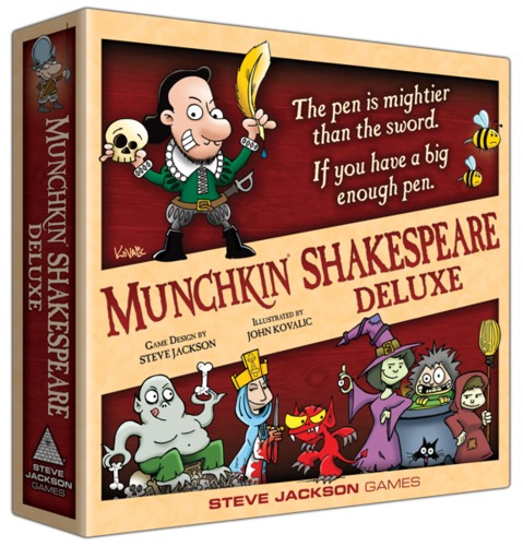 Munchkin Shakespeare - Deluxe Edition