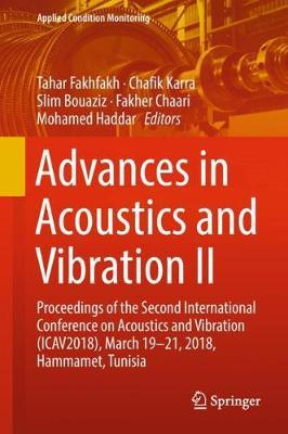 Advances in Acoustics and Vibration II