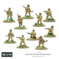 Bolt Action: Chinese PVA Infantry Squad image