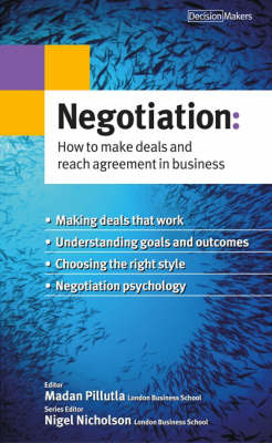 Negotiation: How to Make Deals and Reach Agreement in Business image
