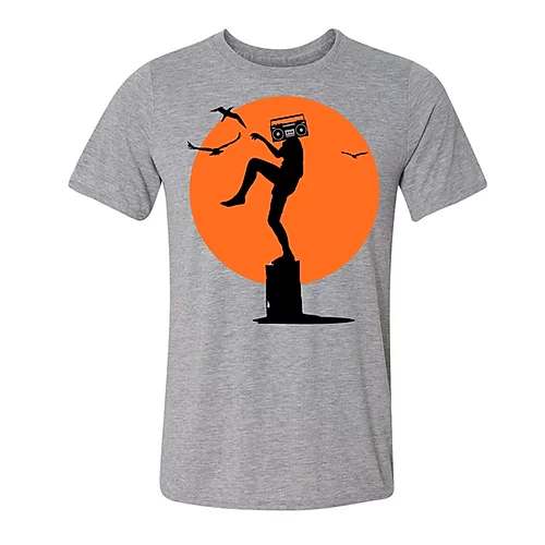 Speakerface: Karate Kickdrum Shirt Mens - L