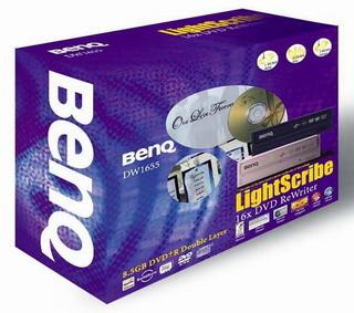 BenQ DW1655 Internal Dual Layer / Lightscribe DVD+ -RW Drive