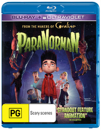 ParaNorman on Blu-ray, UV