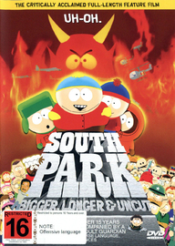 South Park: Bigger, Longer & Uncut on DVD image