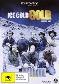 Ice Cold Gold - Season One (2 Disc Set) on DVD