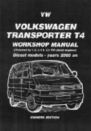 Volkswagen Transporter T4 Workshop Manual Diesel 2000 on image