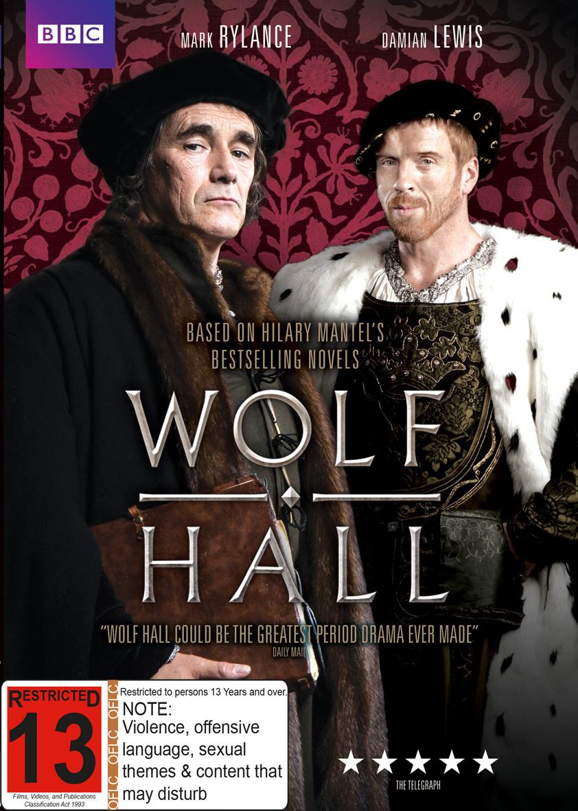 Wolf Hall on DVD image