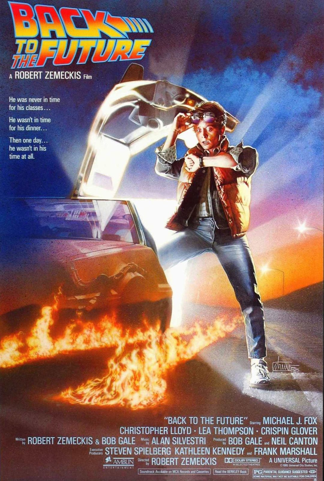 Retro Back to the Future Wall Poster (16) image