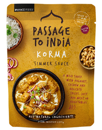 Passage to India - Korma Simmer Sauce (375g)