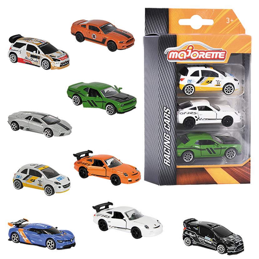 Majorette: Racing Cars 3-Piece Set - (Assorted Designs) image