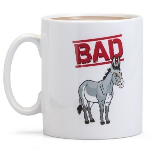 Say What You See Donkey Mug image