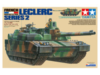 Tamiya 1/35 French Main Battle Tank Leclerc Series 2 - Model Kit image